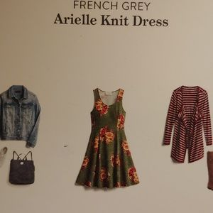 Stitchfix French Grey Arielle knit dress